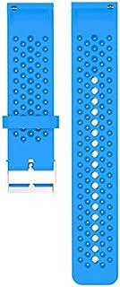 QiKun-Home Voor Polar Vantage M siliconen smartwatch vervangende riem officieel patroon zwarte gesp sport vervangende pols...