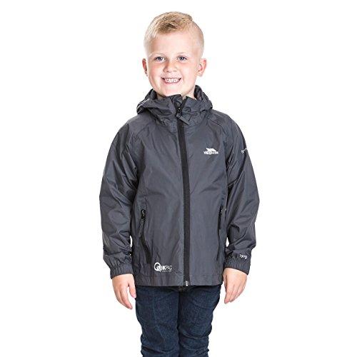 Qikpac Kids Packaway Waterproof Jacket Flint 11/12