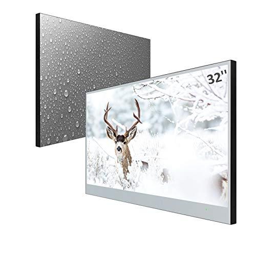 Elecsung 32inch Smart Mirror TV for Bathroom IP66...