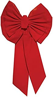 Best extra large outdoor red bow Reviews