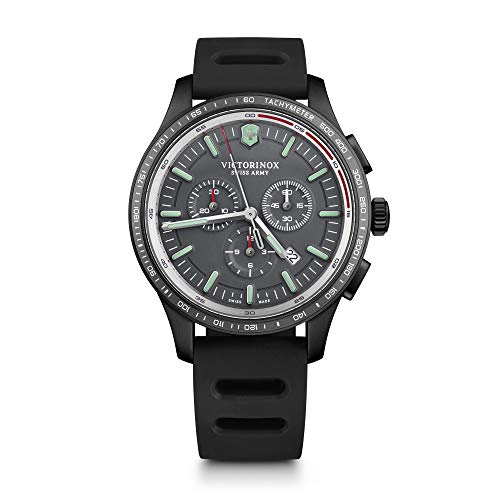 Victorinox Herren Alliance Sport - Swiss Made Chronograph Edelstahl Uhr 241818