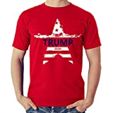 Trump T Shirt - Donald Trump Campaign 2020 Tee Shirt - Keep America Great - Presidential Election Tshirt (Red, X-Large)