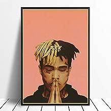 MugshotLARGE 24X24PREMIUM PAPER XXXTentacion RIP Tribute Poster