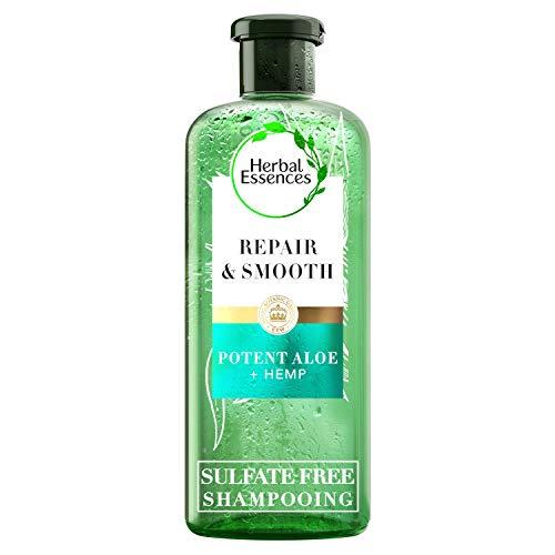 Herbal Essences, Shampoing sans Sulfates, à l'Aloe et au Chanvre, pour les Cheveux Secs, 225 ml