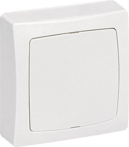 Legrand 097624 Boîte de Dérivation et Sortie de Câble, Appareillage Saillie, Blanc