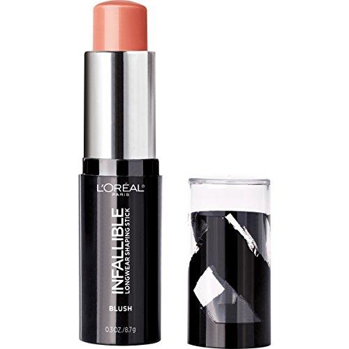 L'Oreal Paris Makeup Infallible Longwear Blush Shaping Stick, Up to...