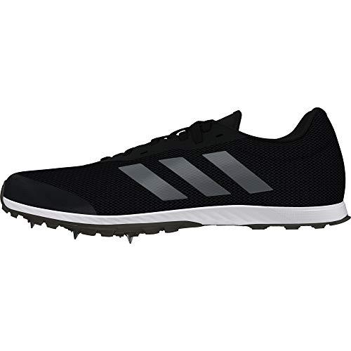 Adidas XCS, Zapatillas de Atletismo para Hombre, Negro (Negbás/Nocmét/Carbon 000), 44 2/3 EU