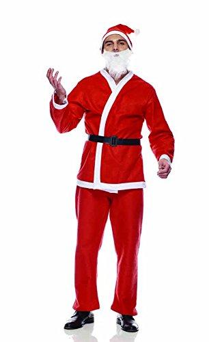 Rubie's IT00001 - Babbo Natale Eco Costume, Adulto, Taglia Unica