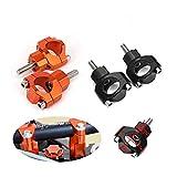 Elevadores De Manillar De Motocicleta De 1 1/8'28MM Elevadores De Manillar De Motocicleta para KTM SX SXF EXC XCW XCFW EXCF 125150200250300350450500525530 (Color : Orange)