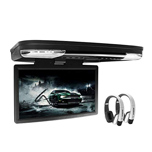 XTRONS 15.6 Inch 1080P Video HD Digital...