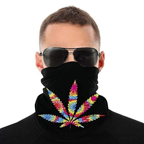 UKUK Pot Leaf Weed Multifunctional headwear leggings magic scarf mask balaclava sports yoga motorcycle riding running