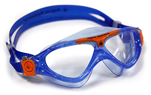 Aqua Sphere Kinder Taucherbrille / Tauchmaske / Schwimmbrille Vista Jr (One Size) (Blau)