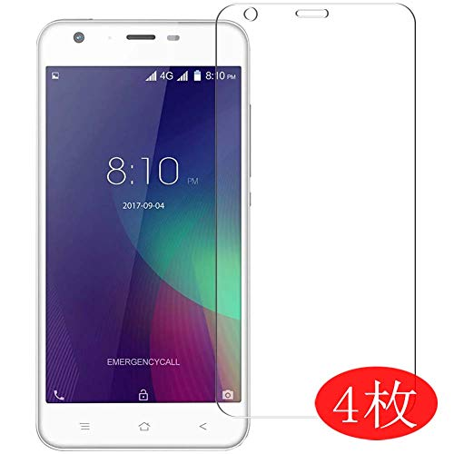 【4 Pack】 Synvy Screen Protector for Blackview A7 Pro 0.14mm TPU Flexible HD Clear Case-Friendly Film Protective Protectors [Not Tempered Glass] New Version
