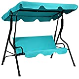 41TlEdfQ65L. SL160  - 3 Person Patio Swing With Canopy