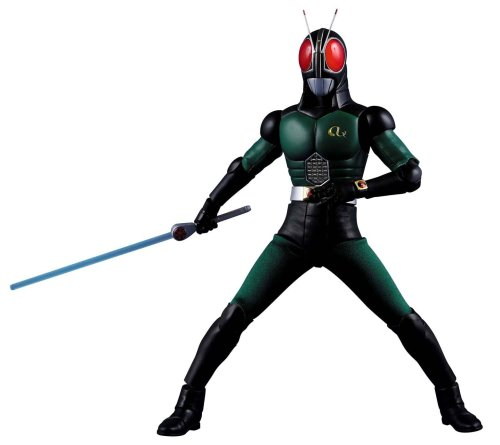 Real Action Heroes RAH 421 Masked Kamen Rider Black RX 12' figure