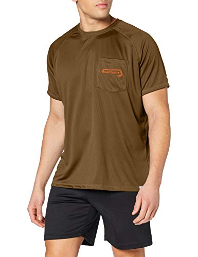 Carhartt Force Graphic Short-Sleeve T-Shirt, Military Olive, X-Large Homme
