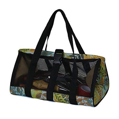 LouisaYork Bolsa de herramientas Oxford de 33 cm para jardín, bolsa de herramientas de boca ancha, bolsa de herramientas, organizador de jardín, bolsa para jardinería en interiores y exteriores