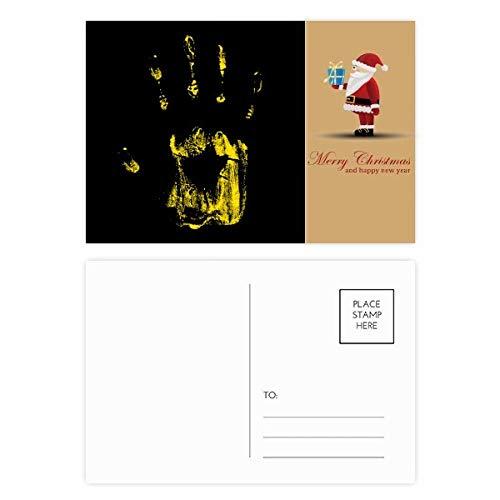 Halloween Horror Print Santa Claus Postkarten-Set Dankeskarte Mailing 20 Stück