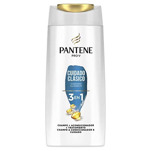 Pantene Pro-V Cuidado Clásico Champú, acondicionador y tratamiento 3 en 1, pelo de aspecto sano y brillante, 675 ml