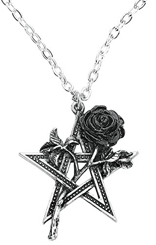 Alchemy Gothic Ruah Vered Mujer Collar Standard, Peltre, Regular