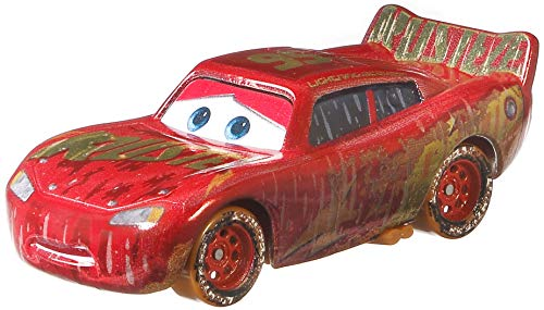 Disney Pixar Cars Muddy Lightning McQueen