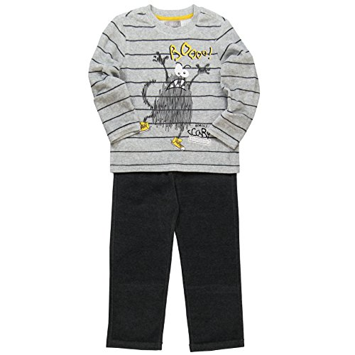 boboli Baby-Jungen Schlafanzüge  Pijama Terciopelo Listado ,  mehrfarbig (listado bicolor), größe 10 Jahre