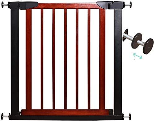 Cancelletto cani Pressione Fit metallico di sicurezza Porta Stand 75 centimetri di altezza La larghezza può essere selezionato da 75 a 250cm cancello bambino cancello animali con le estensioni disponi