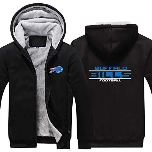 anking NFL Buffalo Bills New York Jets Hombre Sudadera con Capucha Deportiva...