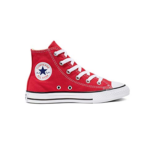 Converse Converse Unisex-Kinder Chuck Taylor All Star Hi Hohe Sneakers, Rot (Red), 27 EU