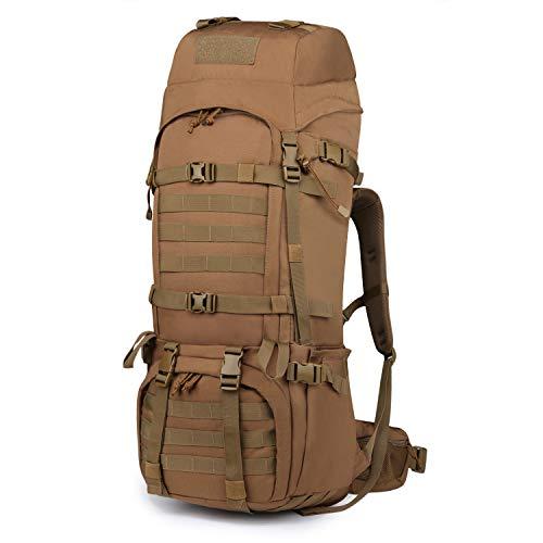 Mardingtop 65L Rucksack Taktischer Rucksack Wanderrucksack Trekkingrucksack YKK Zipper mit der großen Kapazität