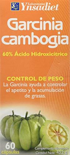 YNSADIET Garcinia Cambogia Complemento Alimenticio - 60 Cápsulas