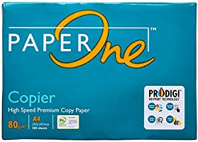 Paperone Copier, A4 80 GSM, 1 Ream, 500 Sheets