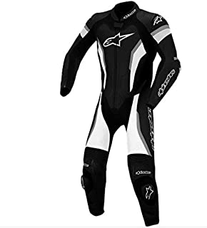 Alpinestars GP Pro Leather Suit, Gender: Mens/Unisex, Primary Color: Black, Size: 58, Apparel Material: Leather, Distinct Name: Black/Anthracite 3155014-140-58