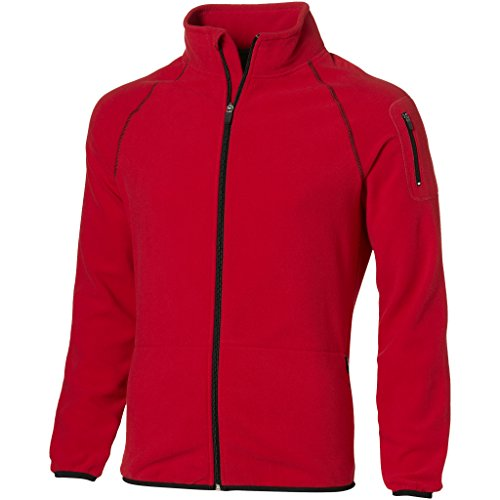 Slazenger Herren Drop Shot Micro Fleece Jacke (XL) (Rot)