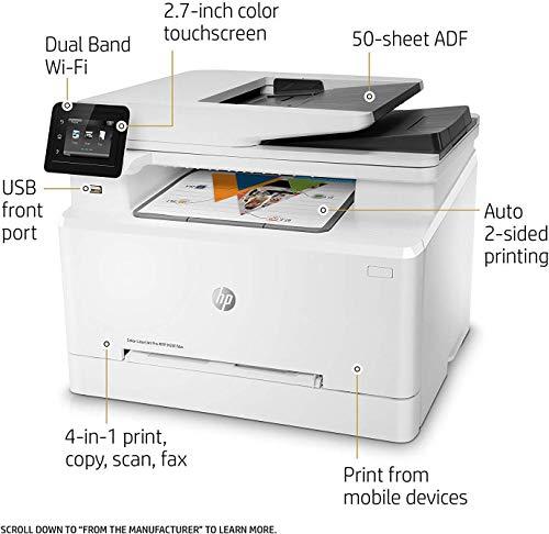 Best Printers for Homeschool - HP LaserJet Pro M281fdw All-in-One Wireless Color Laser Printer