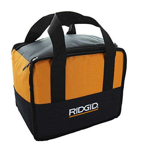 Ridgid Genuine OEM Soft-Sided Heavy Duty Contractor's Tool Bag for Drills or Impact Drivers (12 Inches x 10 Inches x 8 Inches)
