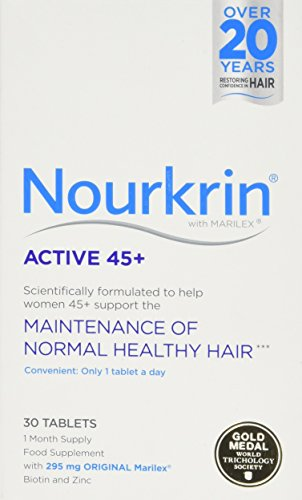 Nourkrin Active 45 + 30 Tablets (1 Month Supply)