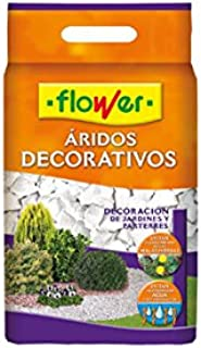 Flower M112252 - Marmolina Blanca Decorativa 8kg: Amazon.es: Jardín