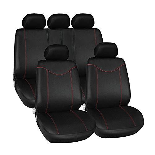 Asiento de coche para fundas para asientos de coches, pantalla para Citigo, Fabia 123Octavia 12A5A7RS rápido Rapid Spaceback Superb 23Yeti