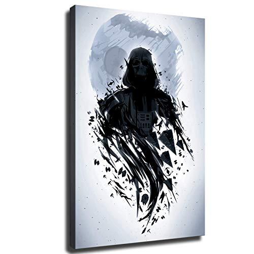 Hinyast Star Wars Darth Vader Posters Wall Decor Canvas Wall Art (18x24inch,No Framed)