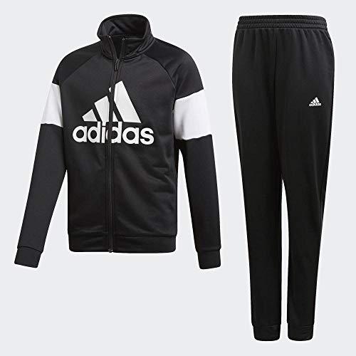 Adidas Yb TS Bos trainingspak, kinderen, zwart/wit, 104 (3/4 jaar)