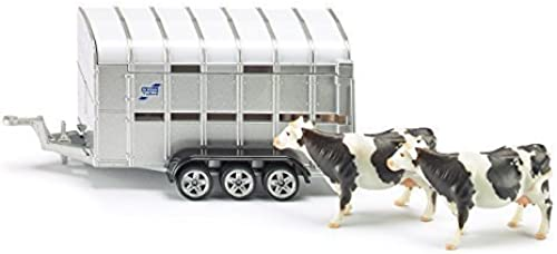 Siku Ifor Williams Stock Trailer 1 50 Miniature Replica Toy Model Farm Vehicle by SIKU