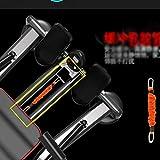 FYYDNR Rudergerät, Bewegung Rudergerät Maximallast 100kg, Gewicht Detaillierte LCD Display schlankes Profil for einfache Lagerung -110 Cmx57cmx17cm - 5
