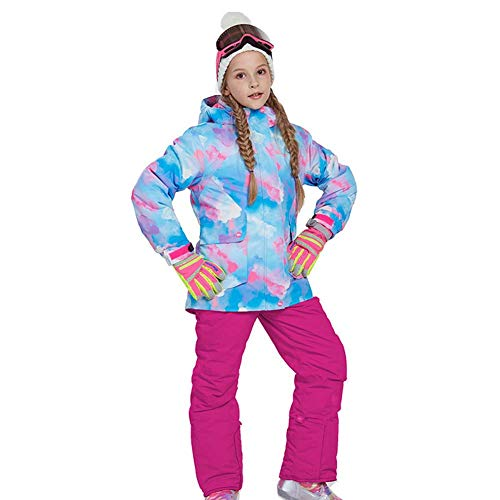 GFYL 2-delige sneeuwpak Skisuit Set Winddicht Waterdicht Snowboard Winter Ski Jas en Broeken Set