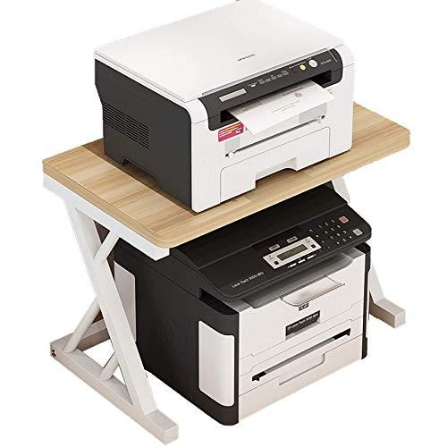 ZHJIUXING SF Soporte para Impresora Estante para Impresora Almacenamiento En El Hogar Estantes De Escritorio para Oficina En El Hogar Y La Escuela, Soporte para Documentos para Escritorio