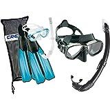 Cressi Rondinella Bag Set - Juego De Snorkel, Color Turquesa, 37/38 +...