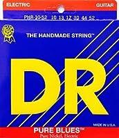 DR PURE BLUES Pure Nickel PHR-10 (10-46) ディーアール ピュアニッケル エレキギター弦【国内正規品】