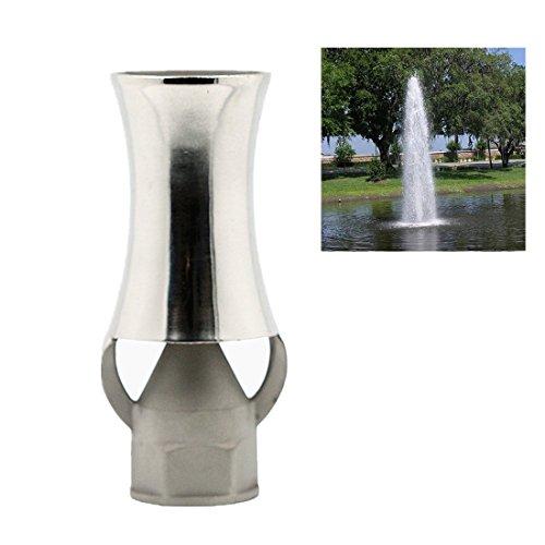 NAVADEAL DN25 1' Stainless Steel Ice Tower Cascade Cedar Water Fountain Nozzle Spray Sprinkler Head