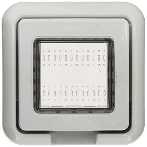 Bticino - 24602 tapa idrobox ip55 2 modulos gris Ref. 6576050020