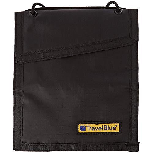 Travel Blue Portefeuille de sécurité, Noir, Taille Unique